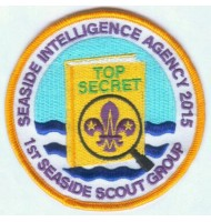 SEASIDE SCOUT GROUP embroidered badge