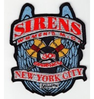 New York City embroidered badge