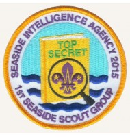 Embroidered Scout Badge