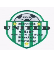 United cup embroidered badge