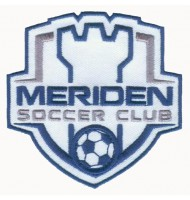 Soccer club embroidered badge