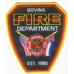 Fire Department embroidered badge