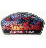 Mount baker council scouting embroidered badges