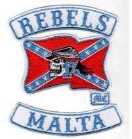 Rebels Malta embroidered badge