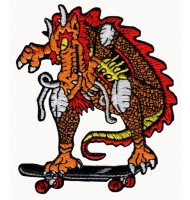 Embroidered badge of Dragon