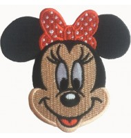 Embroidered badge of Mickey Mouse