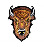 Buffalo embroidered badge