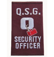 Security officer embroidered epaulet
