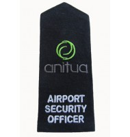 Security officer embroidered epaulets