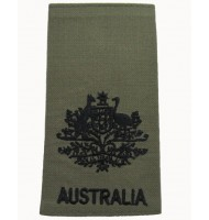 Australia government embroidered epaulets