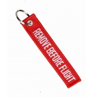 Red Remove Before Flight key chan