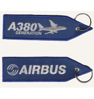 AIRBUS embroidered keychain