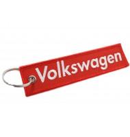 Volkswagen embroidered keychain