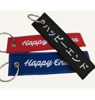 Fashionable high quality embroidered key ring
