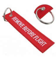 Red color Remove Before Flight