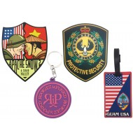 PVC badges