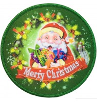 Embroidered Christmas Patch